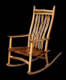 Walnut & White Oak Rocker