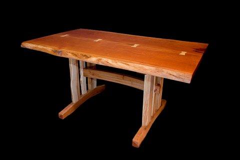 Cherry Slab Dining Table