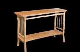 Oak & Maple Entry Table