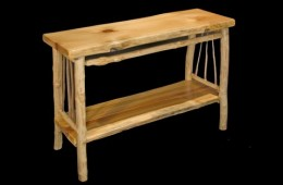 Maple & Pine Entry Table