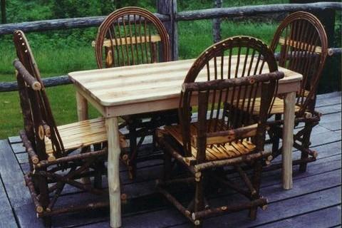 Rustic Dining Set