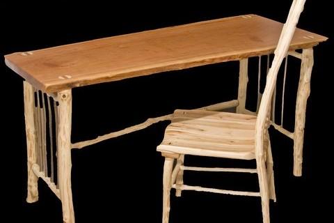 Slab Desk & Chair