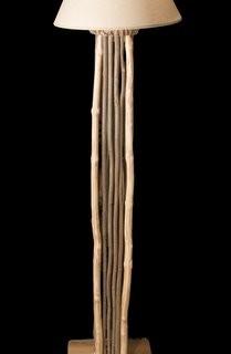 Tall Rustic Lamp