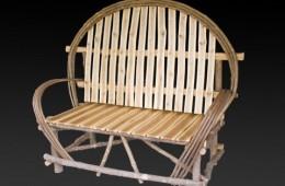 Ash & Maple Rustic Bench